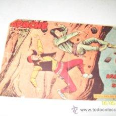 Tebeos: APACHE, Nº. 54-2ª. PARTE-TINOCO-D/L 1958-EDITORIAL, MAGA- TEBEO ORIGINAL. Lote 26823731
