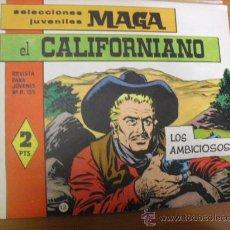 Tebeos: EL CALIFORNIANO Nº 12, DE MAGA 1965. Lote 26856690