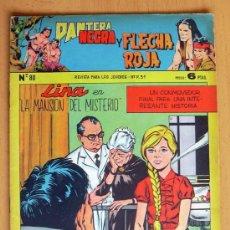 Tebeos: PANTERA NEGRA Y FLECHA ROJA Nº 80 - EDITORIAL MAGA 1962. Lote 26899103
