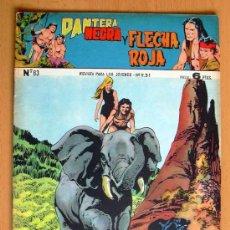 Tebeos: PANTERA NEGRA Y FLECHA ROJA Nº 83 - EDITORIAL MAGA 1962. Lote 26899119