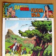 Tebeos: PANTERA NEGRA Y FLECHA ROJA Nº 84 - EDITORIAL MAGA 1962. Lote 26899129