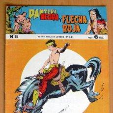 Tebeos: PANTERA NEGRA Y FLECHA ROJA Nº 85 - EDITORIAL MAGA 1962. Lote 26899135