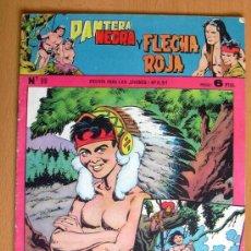 Tebeos: PANTERA NEGRA Y FLECHA ROJA Nº 88 - EDITORIAL MAGA 1962. Lote 26899215