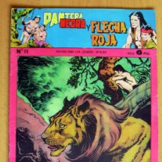 Tebeos: PANTERA NEGRA Y FLECHA ROJA Nº 89 - EDITORIAL MAGA 1962. Lote 26899228