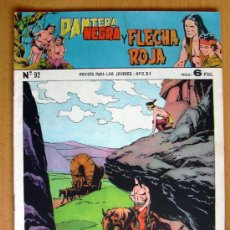 Tebeos: PANTERA NEGRA Y FLECHA ROJA Nº 92 - EDITORIAL MAGA 1962. Lote 26899260