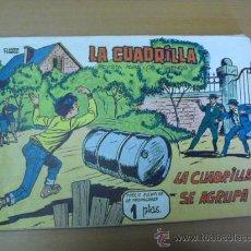 Tebeos: LA CUADRILLA Nº 1,DE MAGA 1961. Lote 26982312