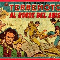 Tebeos: DAN BARRY EL TERREMOTO , Nº 2 , AL BORDE DEL ABISMO , ORIGINAL,. Lote 27003945