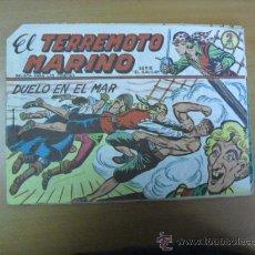 Tebeos: EL TERREMOTO MARINO Nº 25, DE MAGA 1963 PICO CORTADO. Lote 27040508