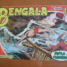 Tebeos: BENGALA Nº 4 (II PARTE) -- MAGA -- ORIGINAL DE LA EPOCA. Lote 27163754
