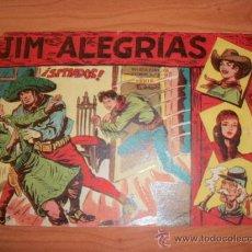 Tebeos: JIM ALEGRIAS Nº 11 EDITORIAL MAGA ORIGINAL . Lote 27223687