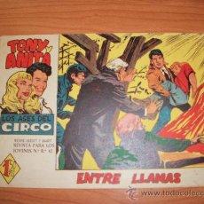 Tebeos: TONY Y ANITA Nº 32 2 ª EPOCA EDITORIAL MAGA 1960 ORIGINAL . Lote 27237758