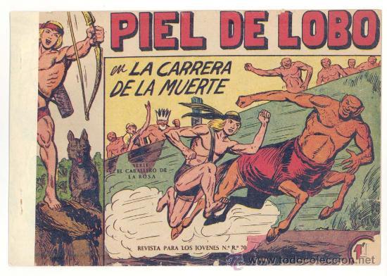 LOTE PIEL DE LOBO 9 NUMEROS ( 6,10,11,12,13,14,15,16 Y 17), ORIGINALES (Tebeos y Comics - Maga - Piel de Lobo)