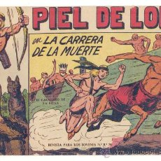 Tebeos: LOTE PIEL DE LOBO 9 NUMEROS ( 6,10,11,12,13,14,15,16 Y 17), ORIGINALES. Lote 27192063