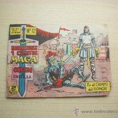 Tebeos: CORAZA DE CASTILLA Nº 12, EDITORIAL MAGA. Lote 98144058