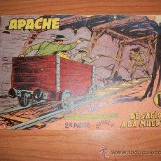 Livros de Banda Desenhada: APACHE 2ª PARTE Nº 65 EDITORIAL MAGA 1957 ORIGINAL . Lote 27292037