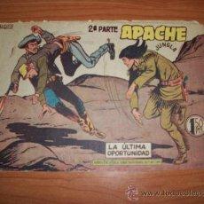 Livros de Banda Desenhada: APACHE 2ª PARTE Nº 59 EDITORIAL MAGA 1957 ORIGINAL . Lote 27292072