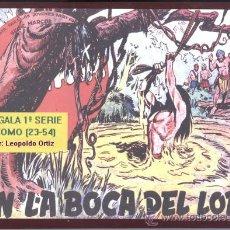 Tebeos: BENGALA 1ª SERIE (LEOPOLDO ORTIZ 1958) 32 NÚMEROS ENCUADERNADOS (23-54 FIN). Lote 27737218