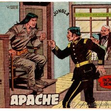 Tebeos: APACHE 2ª Nº 31, EDI. MAGA 1958 POR CLAUDIO TINOCO. Lote 27791323
