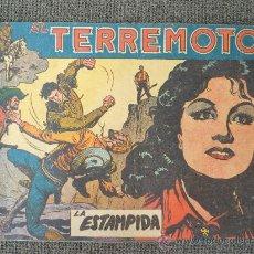 Tebeos: DAN BARRY EL TERREMOTO Nº 23 EDIT. MAGA. 1954 POR JOSE ORTIZ.- ORIGINAL. Lote 67439543