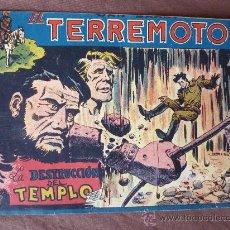 Tebeos: DAN BARRY EL TERREMOTO Nº 45 EDIT. MAGA. 1954 POR JOSE ORTIZ.- ORIGINAL. Lote 67439655