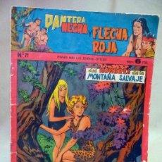 Tebeos: COMIC, PANTERA NEGRA Y FLECHA ROJA, Nº 71, MAGA. Lote 27962490