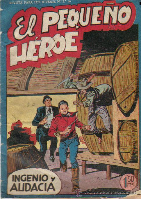 EL PEQUEÑO HEROE Nº 30 - ED.MAGA 1956 (Tebeos y Comics - Maga - Pequeño Héroe)