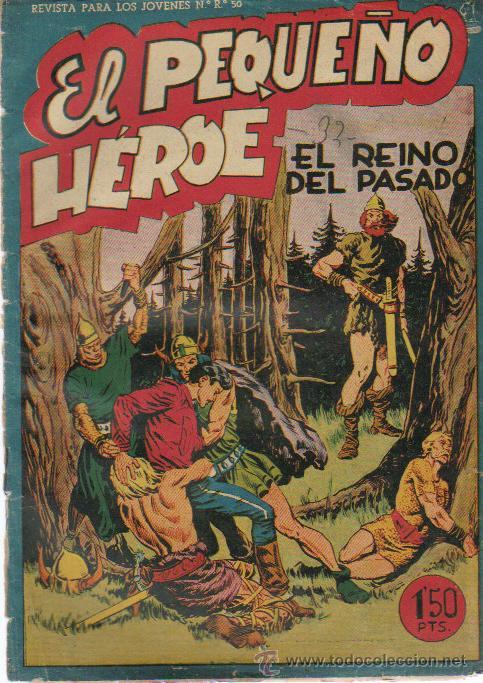EL PEQUEÑO HEROE Nº 34 - ED.MAGA 1956 (Tebeos y Comics - Maga - Pequeño Héroe)
