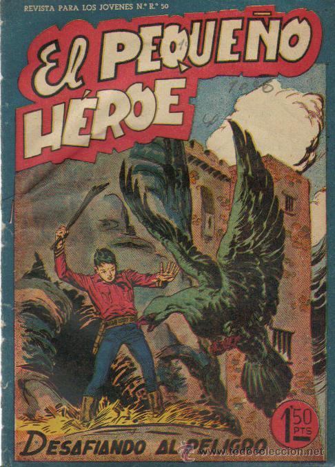 EL PEQUEÑO HEROE Nº 42 - ED.MAGA 1956 (Tebeos y Comics - Maga - Pequeño Héroe)