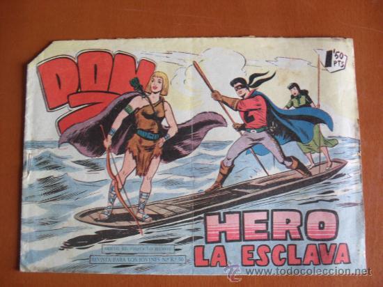DON Z Nº 29 ** HERO LA ESCLAVA ** MAGA ** ORIGINAL EPOCA (Tebeos y Comics - Maga - Don Z)