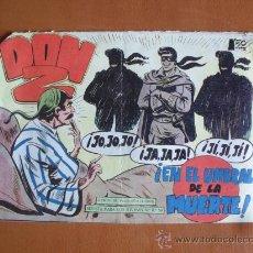 Tebeos: DON Z Nº 33 - EN EL UMBRAL DE LA MUERTE -- ORIGINAL. Lote 28098698