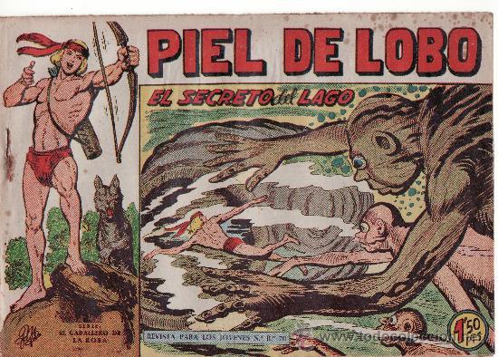 EL SECRETO DEL LAGO Nº59. SERIE EL CABALLERO DE LA ROSA. (Tebeos y Comics - Maga - Piel de Lobo)