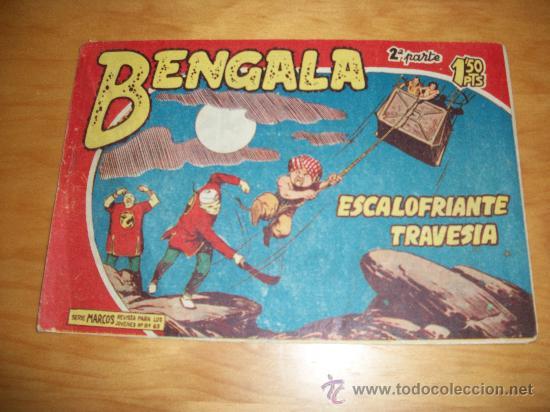 BENGALA 2ª Nº 27 EDITORIAL MAGA 1959 ORIGINAL (Tebeos y Comics - Maga - Bengala)