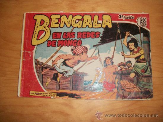 BENGALA 2ª Nº EDITORIAL MAGA 1959 ORIGINAL (Tebeos y Comics - Maga - Bengala)