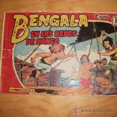 Tebeos: BENGALA 2ª Nº EDITORIAL MAGA 1959 ORIGINAL . Lote 28144100