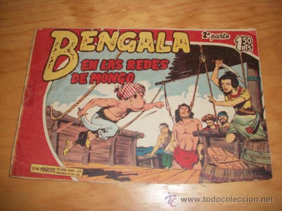 BENGALA 2ª Nº 9 EDITORIAL MAGA 1959 ORIGINAL (Tebeos y Comics - Maga - Bengala)