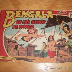 Tebeos: BENGALA 2ª Nº 9 EDITORIAL MAGA 1959 ORIGINAL . Lote 28144129