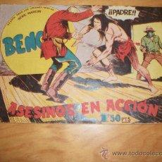 Tebeos: BENGALA 1 ª PARTE Nº 28 EDITORIAL MAGA 1959 ORIGINAL . Lote 28144429