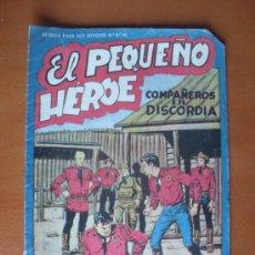 Tebeos: EL PEQUEÑO HÉROE Nº 33 - COMPAÑEROS EN DISCORDIA -- ED. MAGA* C7. Lote 28159742