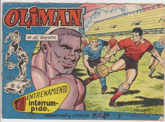 OLIMAN Nº 17. REAL MADRID EN CONTRAPORTADA. (Tebeos y Comics - Maga - Oliman)