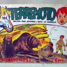 Tebeos: COMIC, TERREMOTO, VENCEDORES, Nº 15, MAGA, ORIGINAL. Lote 28481045