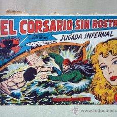 Tebeos: COMIC, EL CORSARIO SIN ROSTRO, JUGADA INFERNAL, SERIE DUQUE NEGRO, Nº 31, ORIGINAL. Lote 28488290