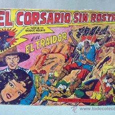 Tebeos: COMIC, EL CORSARIO SIN ROSTRO, TRAIDOR, SERIE DUQUE NEGRO, Nº 3, ORIGINAL. Lote 28488324