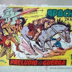 Tebeos: COMIC, APACHE, 2º PARTE, PRELUDIO DE GUERRA, Nº 11, MAGA, ORIGINAL. Lote 28506860