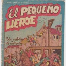 Tebeos: EL PEQUEÑO HÉROE Nº 21.. Lote 82254750