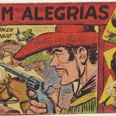Tebeos: JIM ALEGRÍAS Nº 9. MAGA 1960.. Lote 142652720