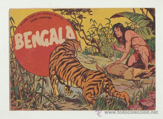 BENGALA. MAGA 1959. COLECCIÓN COMPLETA (54 EJEMPLARES). ESCASA ASÍ (Tebeos y Comics - Maga - Bengala)