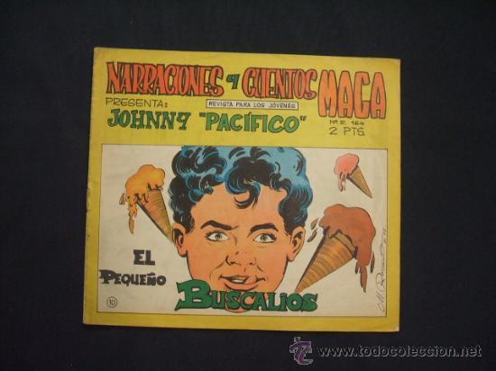 NARRACIONES Y CUENTOS MAGA: JOHNNY PACIFICO - Nº 10 - EL PEQUEÑO BUSCALIOS - (Tebeos y Comics - Maga - Otros)