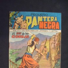 Tebeos: PEQUEÑO PANTERA NEGRA - Nº 57 - EL REY DE LOS GORILAS - EDIT. MAGA -. Lote 28674467