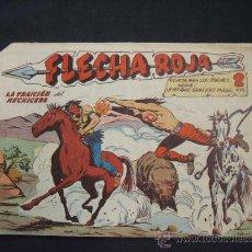 Tebeos: FLECHA ROJA - Nº 41 - LA TRAICION DEL HECHICERO - EDIT. MAGA -. Lote 28686507