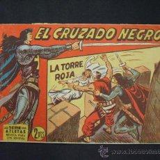 Tebeos: SERIE ATLETAS - EL CRUZADO NEGRO - Nº 38 - LA TORRE ROJA - EDIT. MAGA -. Lote 28686774